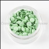 The Hobby House Mini Round Brads - Cool Green - HHMB011